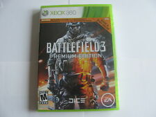 BATTLEFIELD 3 PREMIUM ED*XBOX 360 LIVE*RATED M*FEATURES ALL 5 EXPANSION PACKS