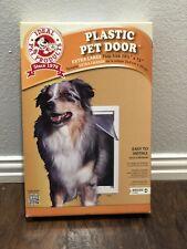 "Ideal Pet Products Plastic Pet Door XL X-Large PPDXL 10.5""x15"" **NEW**"
