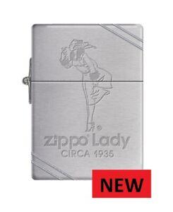 VERY RARE Zippo Lady Circa 1935 ZIPPO LIGHTER  FREE UNITED KINGDOM SHIPPING ....