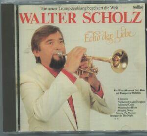 CD Walter Scholz: Echo der Liebe (Intercord) 1985