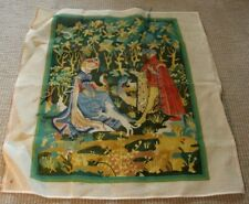 Vintage 1970's Hand Painted Tapestry Needlepoint Kit
