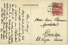 Briefmarken aus Liechtenstein mit Bedarfsbrief