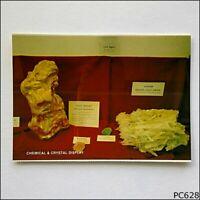Zeehan Tas Chemical & Crystal Display NCV #4411 Postcard (P628)