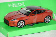 Jaguar F-Type Coupe kupfer 1:24 Welly neu + OVP 24060