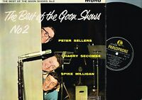THE BEST OF THE GOON SHOWS #2 Milligan SECOMBE LP Mono PARLOPHONE PMC1129 @excl