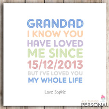 Grandad Grandpa Fathers Day Card Birthday Father's Christmas Card Funny Humour 2