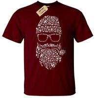 Birds Beard T-Shirt Mens hipster beards bird doves