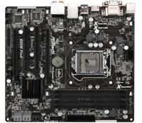 ASROCK B85M Pro4 Motherboard LGA1150 Intel B85 DDR3 DVI VGA HDMI With I/O