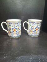 2 x Vintage Takahashi Porcelain Fantasy Cups- Mugs- Japan - San Fransisco EUC