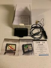 Garmin Nuvi 775T Pre Owned original box- Powers On Great- No Mount