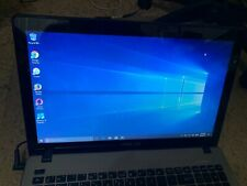 ASUS X550C Laptop intel i3-3217U CPU 1.80GHz 4GB RAM 500GB HD Win10 USED Working