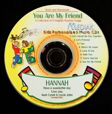 You Are My Friend Personalized CD Child's Name 98xs  Cheaper is not always best