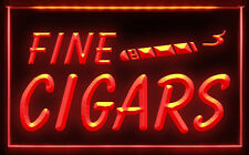 CB001 B Fine Cigars Cigar Shop Display LED Light Sign