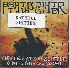 Baignoire shitter - shitter at Salzgitter CD - NEUF / scellé (2006) GRINDCORE
