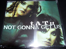 Tatu Not Gonna Get Us / All The Things She Said Aust Remixes 5 Track CD Single