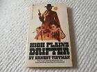 HIGH PLAINS DRIFTER by Ernest Tidyman 1973 Vintage Paperback