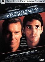 Frequency DVD Gregory Hoblit(DIR) 2000