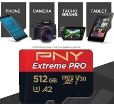 PNY 512GB Micro SD memory card + card reader