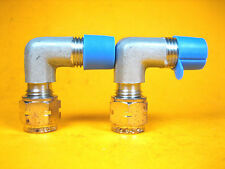 """Imperial Eastman  1/4"""" Tube x 1/4"""" MNPT  SS Union Elbow Lot of 2"""