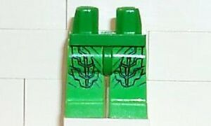LEGO - Spiderman - Minifig, Legs - Green Goblin Legs - Green w/ Goblin Pattern