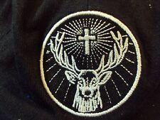 JAGERMEISTER Deer Cross Logo Advertisement Stretch Fit Jagger Girl Hunter Cap