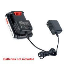 LCS1620 Charger 20V Lithium Battery Charger for Black & Decker LBX20 LBX4020