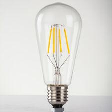 LED Bulbs 4W E27 220V~240V Yellow Warm Light Fitting Screw Holder Globe