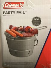 Coleman® Party Pail Charcoal Grill - Brand New Bbq Tailgating Beach Picnic Party