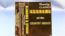 "COUNTRY CLASSICS - 10 Hits - EXCELLENT CONDITION CASSETTE ""Alabama/Ferlin Husky"""
