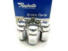 (5) Raybestos 10032N Wheel Lug Nuts - Front / Rear M12 - 1.25 Acorn - 13/16 Hex