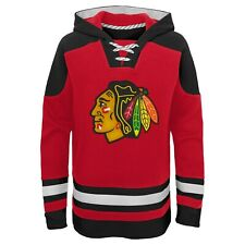 NHL Kinder Hoody Chicago Blackhawks AMH Ageless Must-Have Sweater Pullover Youth