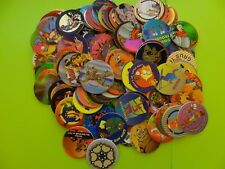 """Pogs 120 Miscellaneous Variety + Slammer Whammer Series II """"Mad Caps"""" Set"""