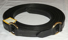 Pair Nos 90� Ideal Equestrian Leather Carriage Driving Full Size D-Ring Traces