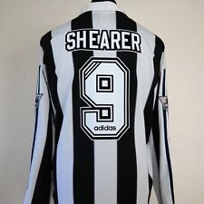 Newcastle United Home Shirt Adult XL SHEARER #9 1995/1997 Long Sleeves L/S