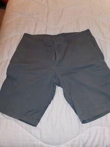 """Rapha Men's Cotton Shorts - Colour - Slate Grey - Size 32"""" Waist"""