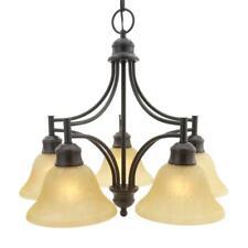 Design House Bristol 5-Light Oil-Rubbed Bronze Downlight Chandelier