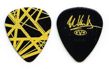 Eddie Van Halen Signature Black/Yellow Frankenstrat Guitar Pick - 2015