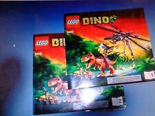 LEGO Dino 5886 T-Rex Hunter Manuals Only GUC No Bricks