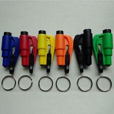 Breaker Glass Seat Belt Emergency Rescue Keychain Cutter Hammer Car
