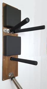 Wooden-Dummy Alternative / mit Federarmen und Fuß