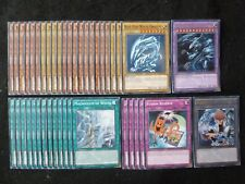 YU-GI-OH 41 CARD BLUE-EYES ULTIMATE DRAGON DECK  *READY TO PLAY*