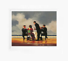 Jack Vettriano - Elegy for a Dead Admiral - Limited Edition Print - Signed - Sma