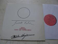 AVANTGARDE Froggio Giacinto Scelsi sauh taiagaru canti del Capricorno 1980 * RARE Vinile *
