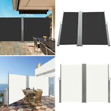 More details for retractable side awning pull-out garden screen panels fence privacy border hedge