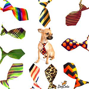 Dog Ties, Collar Neck Tie, Bowties, Cat Puppy, Girl Boy Small Medium S M, Mixed