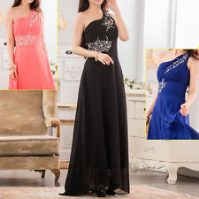 Chiffon One Shoulder Ballgowns for Women