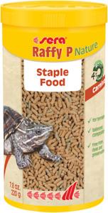 Sera Raffy P Nature 220g Reptile Food Sticks 1L Terrapins Turtle *NEW*
