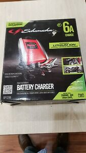Schumacher SP1298 Electric Battery Charger 6A 12V