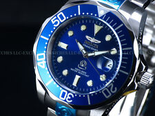 Invicta Men's 47mm Super Classic Grand Diver 300M Automatic Blue Dial SS Watch