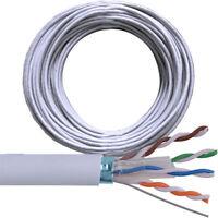 Câble Multibrin RJ45 catégorie cat CAT5E ADSL 1 2 3 5 10 20 m - A sertir RJ 45